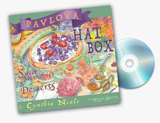 Pavlova in a Hat Box with CD