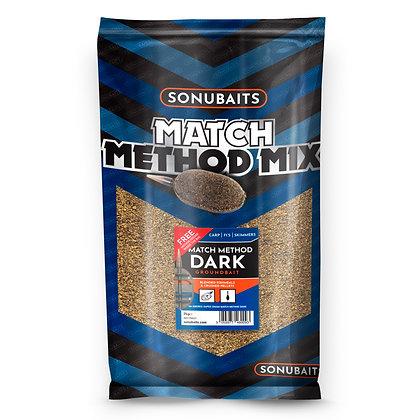 Sonubaits Match Method Mix Dark Groundbait 2kg
