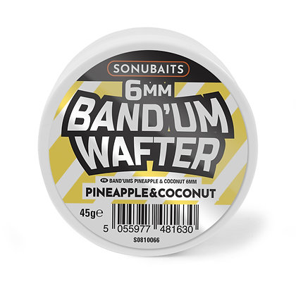 Sonubaits Band'um Wafters Pineapple & Coconut 6mm