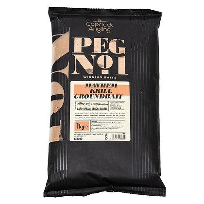 Peg No.1 Mayhem Krill Groundbait