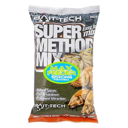 Bait Tech Super Method Mix Max Feeder Groundbait 2kg