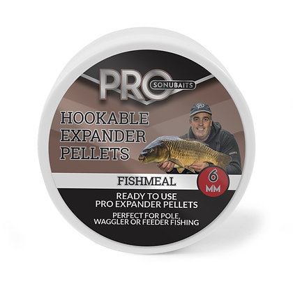 Sonubaits Hookable Pro Expander Fishmeal 6mm