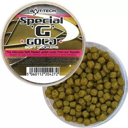 Bait Tech Special G Gold Soft Hooker Pellets