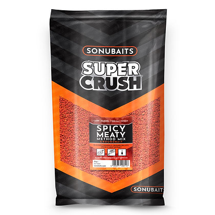 Sonubaits Spicy Meaty Method Mix Groundbait 2kg