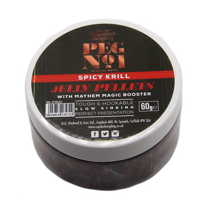 Peg No.1 Spicy Krill Hookable Jelly Pellets
