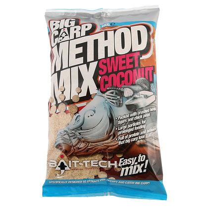 Bait Tech Big Carp Method Mix Sweet Coconut