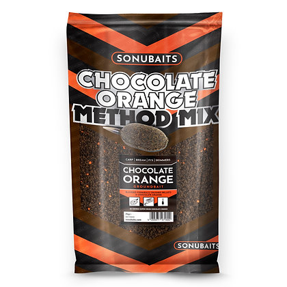 Sonubaits Chocolate Orange Method Mix Groundbait 2kg