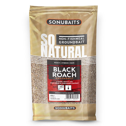 Sonubaits So Natural Black Roach Groundbait