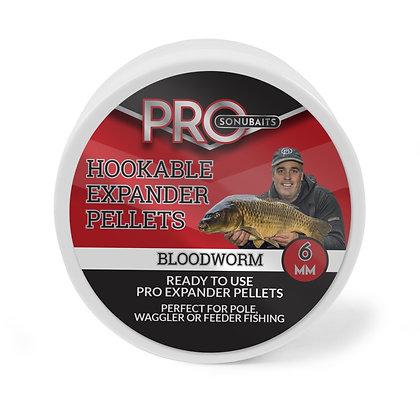 Sonubaits Hookable Pro Expander Bloodworm 6mm