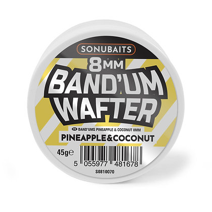 Sonubaits Band'um Wafters Pineapple & Coconut 8mm
