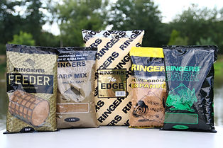Ringers, Ringers Groundbait, The Angling Shop, Ringers Feeder Groundbaits, Ringers Sweet Fishmeal Groundbait, Ringers Feeder Sweet Fishmeal Groundbait, Ringers The Edge Groundbait, Ringers Pure Groundbait Expander Groundbait, Ringers Bag Up Carp Mix, Ringers Bag Up Groundbait, Ringers Dark Green Groundbait, Ringer Dark Green