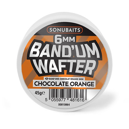 Sonubaits Band'um Wafters Chocolate Orange 6mm