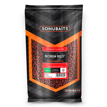 Sonubaits Robin Red Feed Pellets 4mm