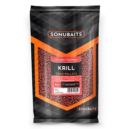 Sonubaits Krill Feed Pellets 6mm