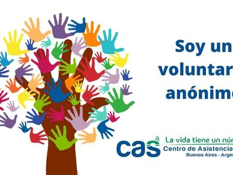Soy un voluntario anónimo del Centro de Asistencia al Suicida