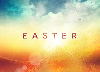 Easter is here! It's time for a break.