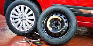 A Guide To... Changing a spare wheel.