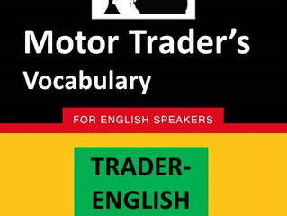 Learn to speak like a Motor Trader...