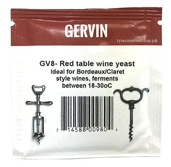"""Винные дрожжи Gervin """"Red Table Wine GV8"""", 5 г"""