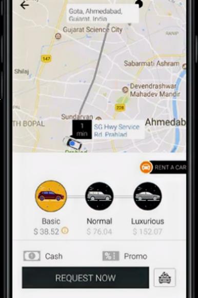 Uber Clone Basic