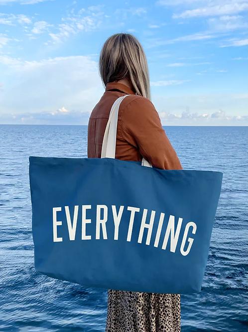 Blue Everything Bag