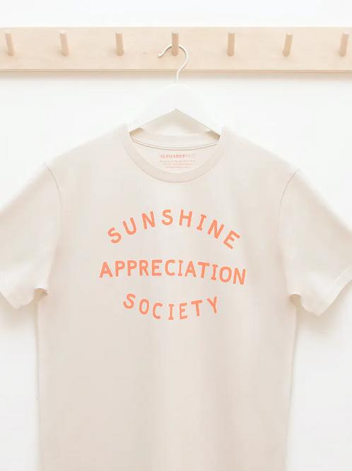 Sunshine Appreciation Society Adults T- Shirt