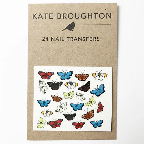 Butterflies Nail Transfers