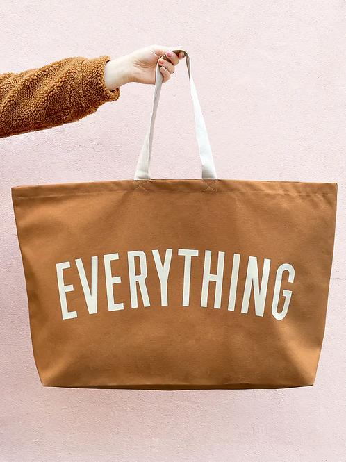 Brown Everything Bag