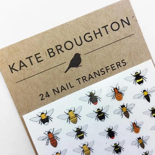 Bee Nail Transfers