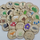 Thumbnail: Nature Alphabet Wooden Discs