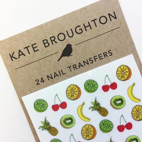 Fruit Nail Transfers