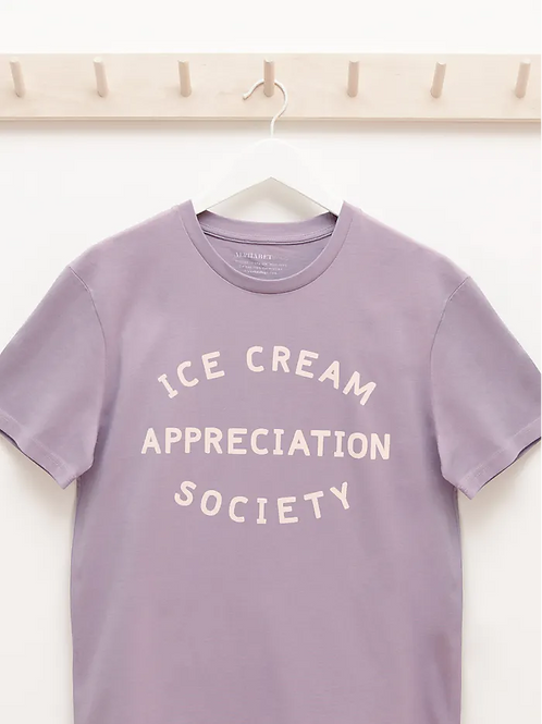 Ice Cream Appreciation Society Adults T- Shirt