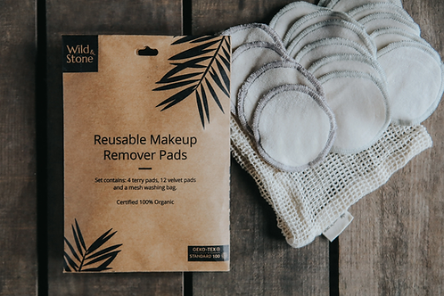 Reusable Makeup Remover Pads - Pack of 16