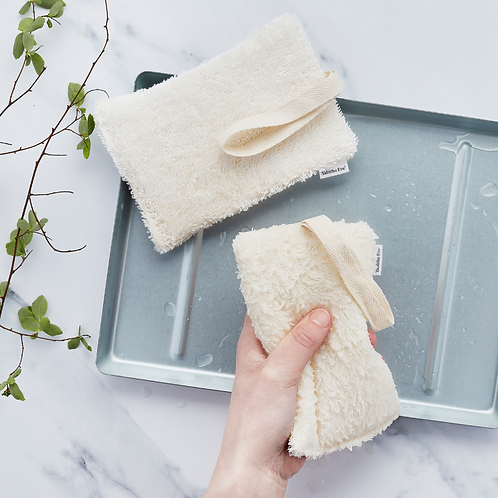 Plastic Free Bath None Sponge - Natural