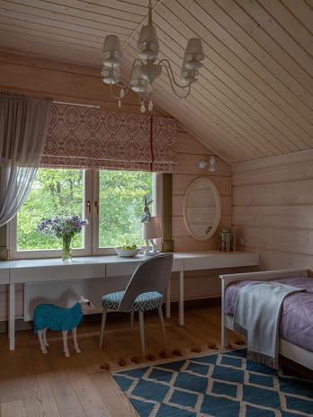 Фрагмент детской комнаты для двочки