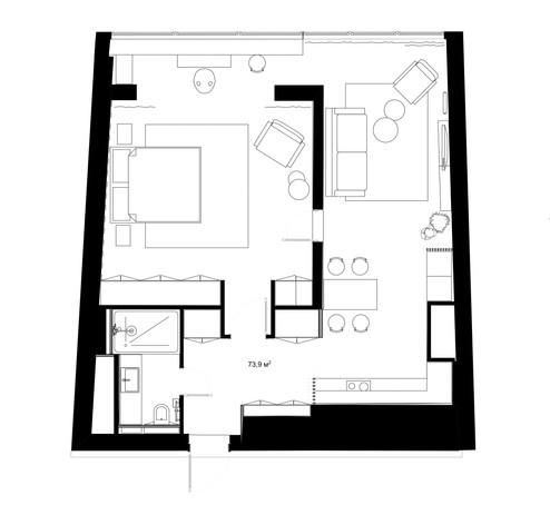 Итоговая перепланировка квартиры