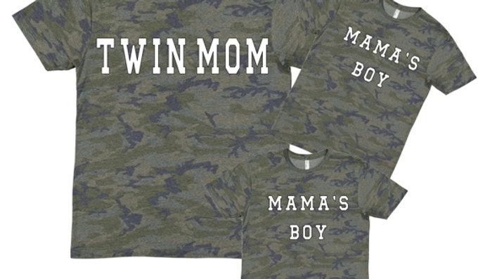 CAMO TWIN/BOY/GIRL MOMMY&ME