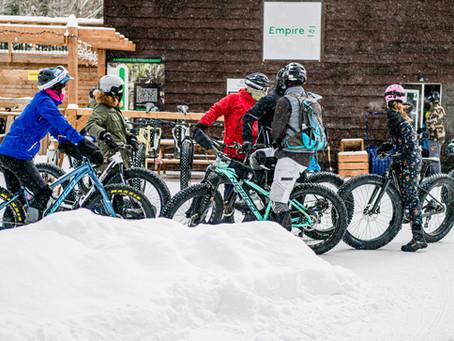 Vélo d'hiver: de la location possible partout au Québec !