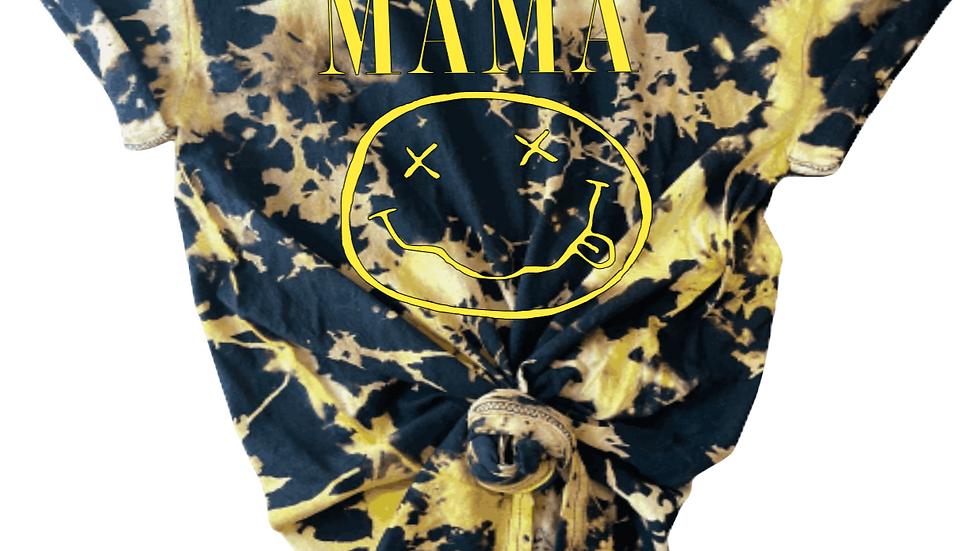 NIRVANA INSPIRED MAMA BAND TEE