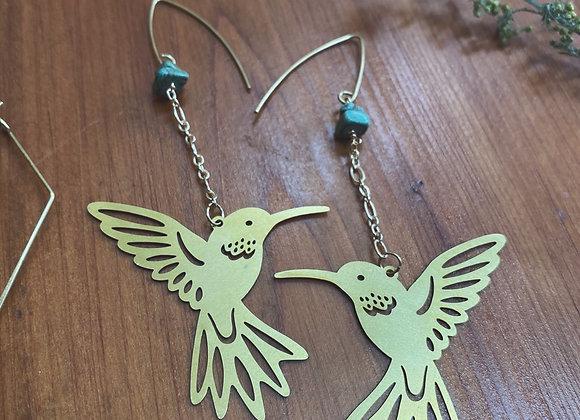 Turquoise Hummingbirds