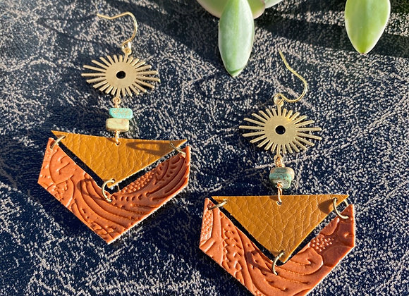 Wild West Leather Dangles