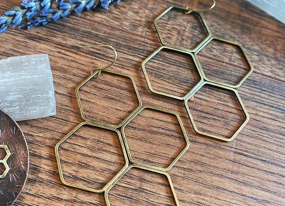 Large Honeycomb Dangles