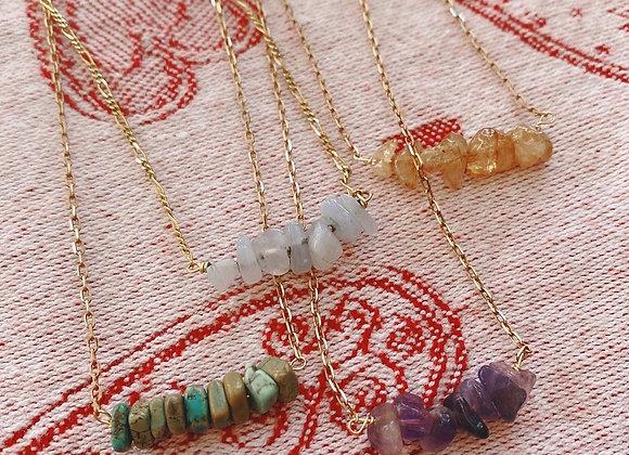 Birthstone & Gemstone Necklaces