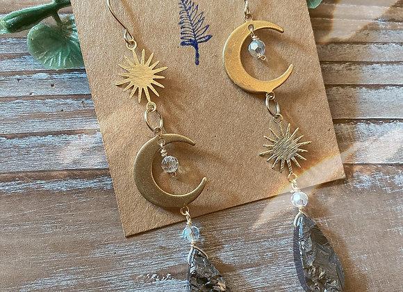 Sun and Moon Gemstone