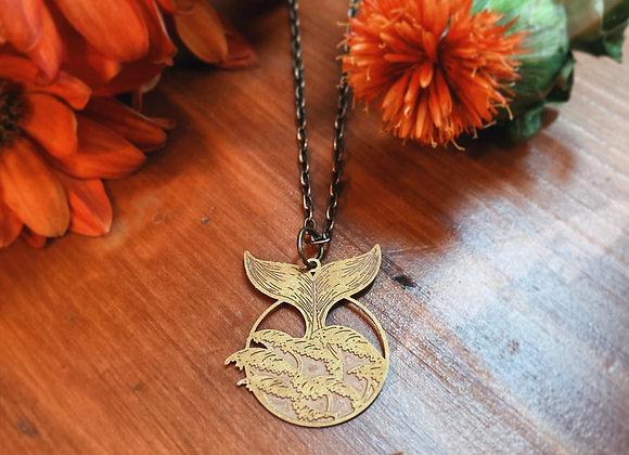 Whales Tale Necklace