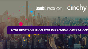 Cinchy Data Fabric Named by Bank Director as Best Solution for Improving Ops in Financial Services