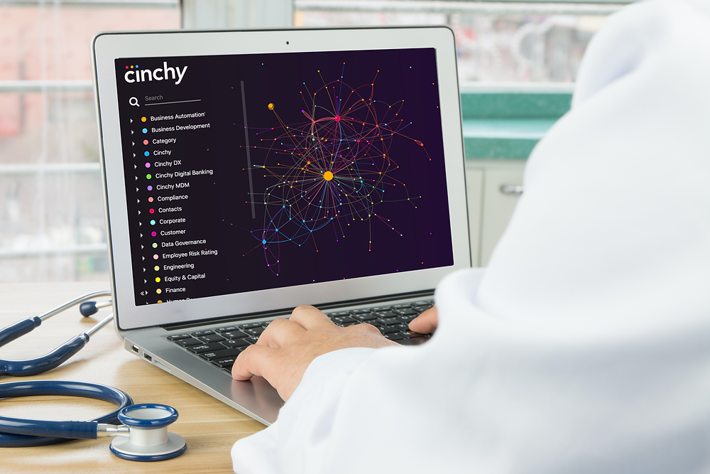Cinchy's data fabric is a leading data fabric vendor due to data network
