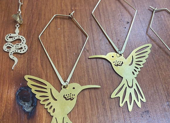 Geometric hummingbirds