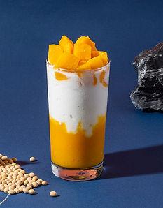 Mango yoghurt drink