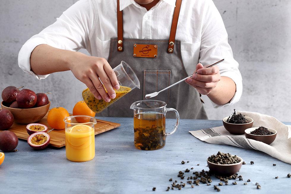 barista mixed fruit tea
